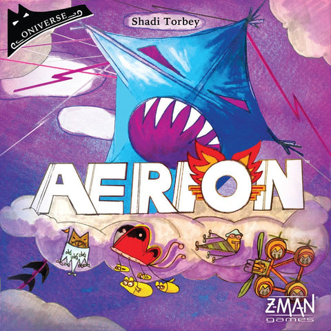 Aerion - Card Game - The Board Gamer