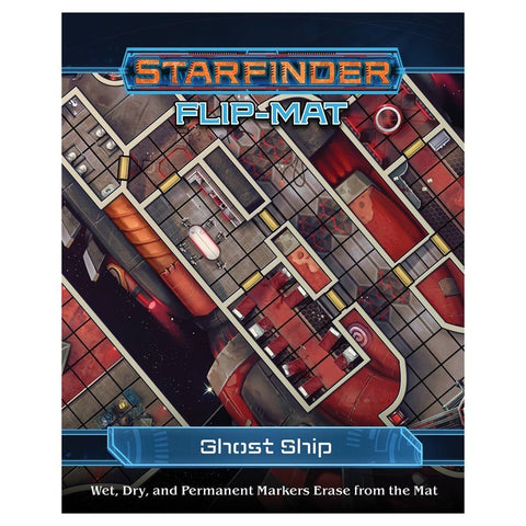 Starfinder RPG: Flip-Mat - Ghost Ship - The Board Gamer