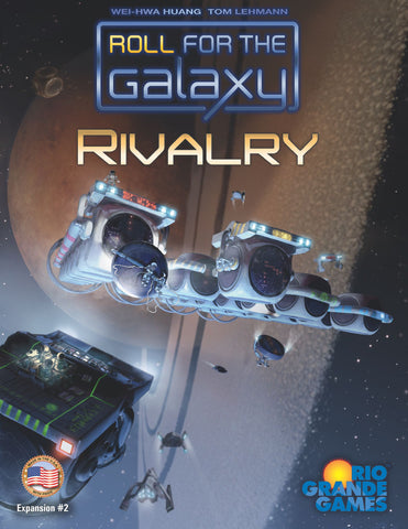 Roll for the Galaxy: Rivalry - Game Expansion - The Board Gamer