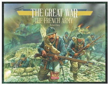 The Great War: French Army - Expansion - The Board Gamer