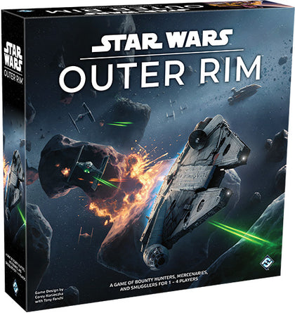 Star Wars: Outer Rim - Board Game - The Board Gamer