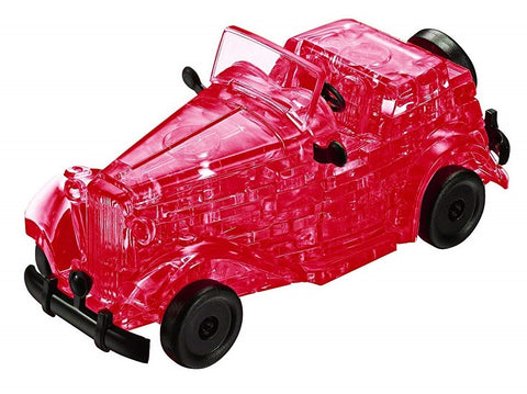 Crystal Puzzle - Classic Sports Car (Red)