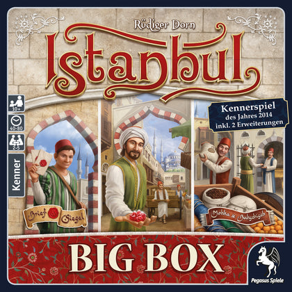 Istanbul: Big Box - All-In-One Edition - The Board Gamer