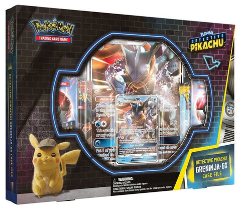 Pokemon TCG: Detective Pikachu - GX Case File (Greninja) - The Board Gamer