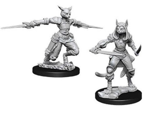 D&D Nolzur's Marvelous: Unpainted Miniatures - Female Tabaxi Rogue