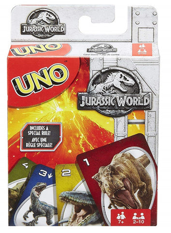 Uno: Fallen Kingdom - Card Game - The Board Gamer