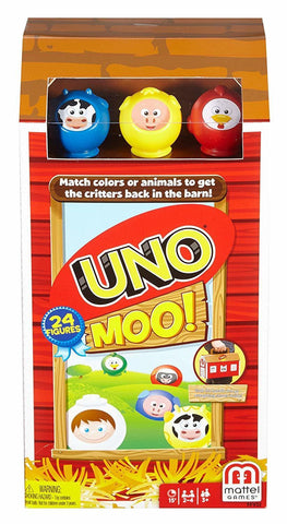 Uno Moo! - Card Game - The Board Gamer