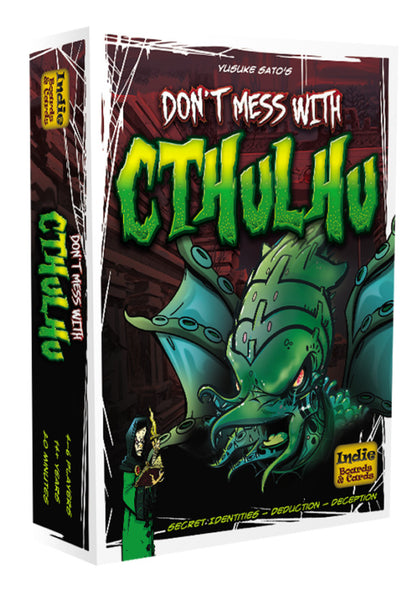 Dont Mess With Cthulhu - Standard Edition - The Board Gamer
