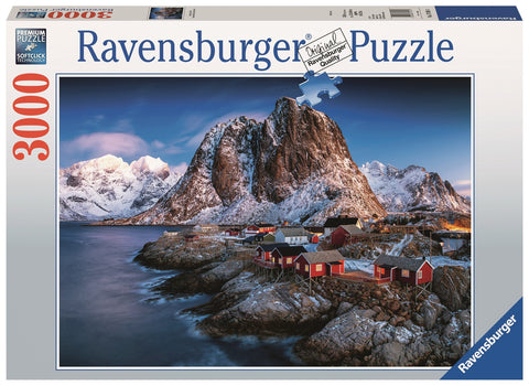 Ravensburger: 3,000 Piece Puzzle - Hamnoy, Lofoten - The Board Gamer
