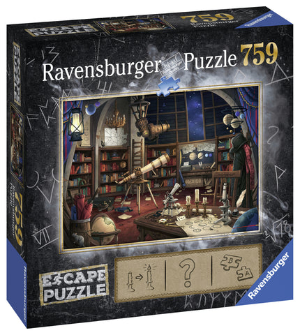Ravensburger: Escape Puzzle - Space Observatory - The Board Gamer
