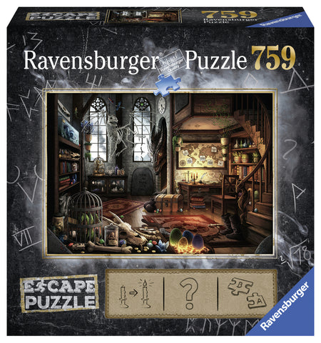 Ravensburger: Escape Puzzle - Dragon Laboratory