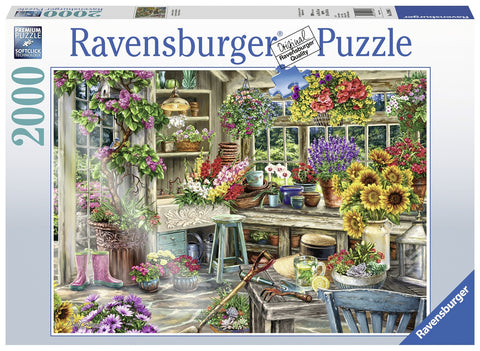 Ravensburger: 2,000 Piece Puzzle - Gardener's Paradise - The Board Gamer