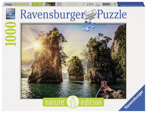 Ravensburger: 1,000 Piece Puzzle - The Rocks in Cheow, Thailand