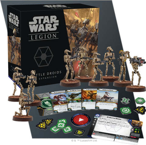 Star Wars Legion: B1 Battle Droids Unit Expansion - The Board Gamer