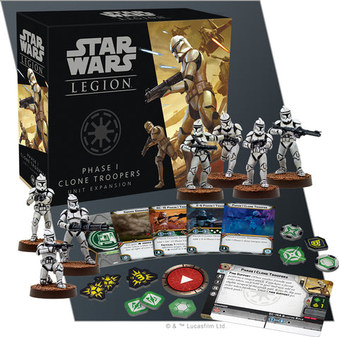 Star Wars Legion: Phase I Clone Troopers Unit Expansion - The Board Gamer