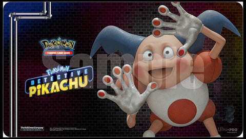 POKEMON - Playmat - Detective Pikachu 'Mr Mine'