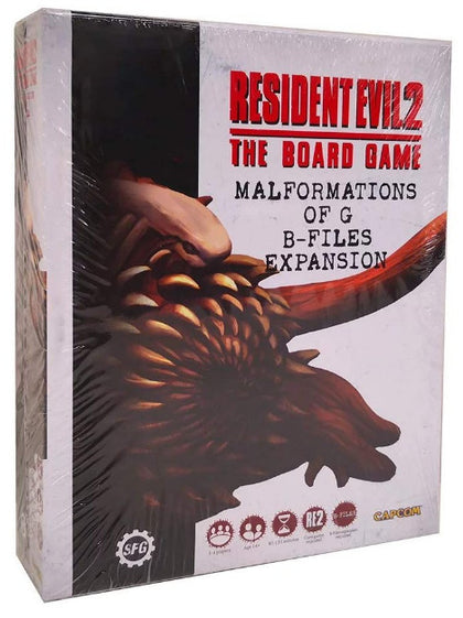 Resident Evil 2: The Board Game - Malformations B-files Expansion - The Board Gamer