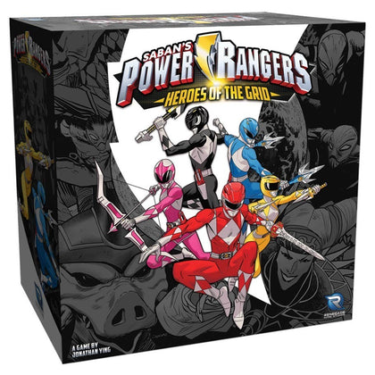 Power Rangers - Heroes of the Grid - Board Game
