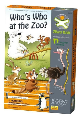 Terra Kids: Whos Who at the Zoo - Children's Game