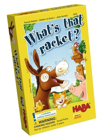 Whats that Racket? - Children's Game