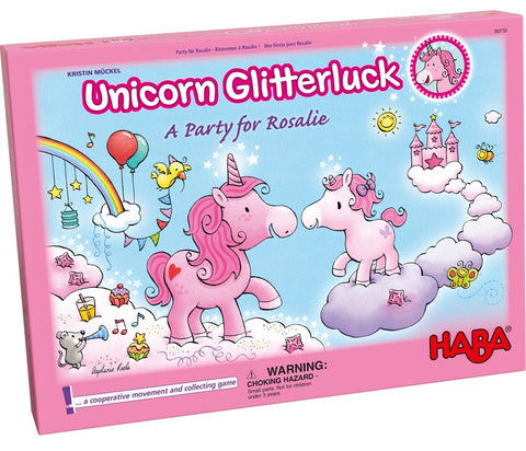 Unicorn Glitterluck: A Party for Rosalie - Children's Game