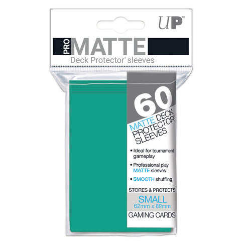 Ultra Pro: Pro-Matte Small Deck Protector Sleeves - Aqua