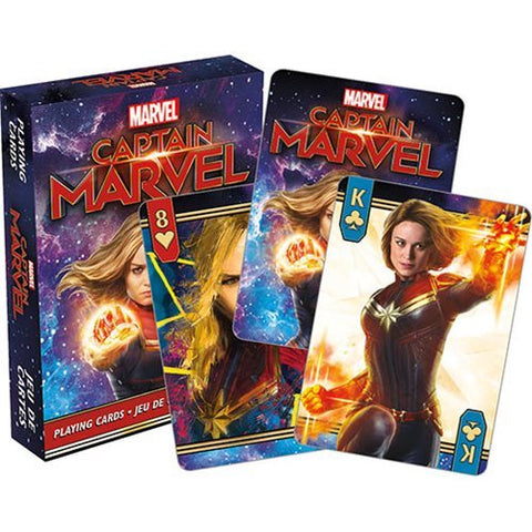 Captain Marvel - Playing Cards