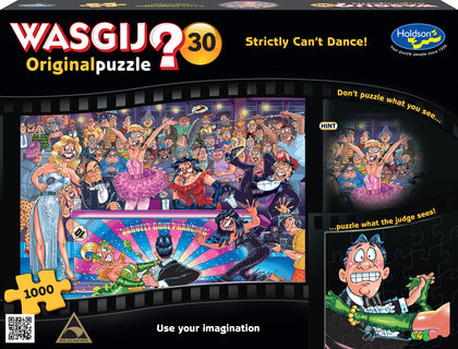 Wasgij: 1000 Piece Puzzle - Originals #30 (Strictly Can't Dance!)