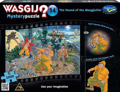 Wasgij: 1000 Piece Puzzle - Mystery (Hound Of The Wasgijville) - The Board Gamer