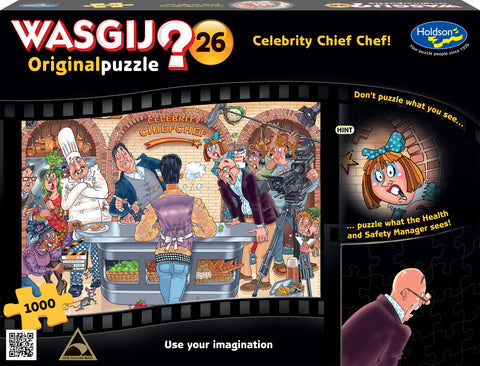 Wasgij: 1000 Piece Puzzle - Originals (Celebrity Chef) - The Board Gamer