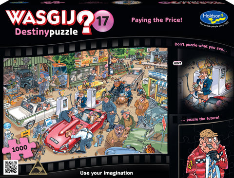 Wasgij: 17 - Paying the Price 1000pc Puzzle - The Board Gamer