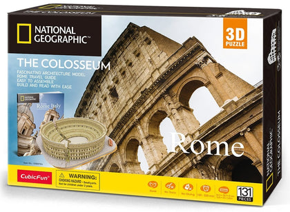 Cubic Fun: National Geographic 3D Model Puzzle - The Colosseum (Rome)