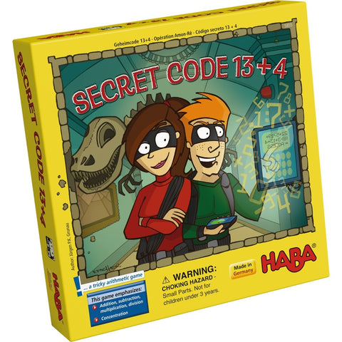Secret Code 13+4 - Children's Game