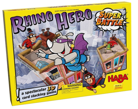 Rhino Hero: Superbattle - Children's Game