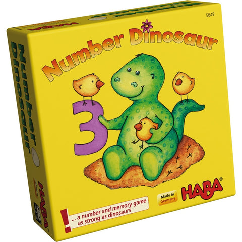 Number Dinosaur - Children's Game - The Board Gamer