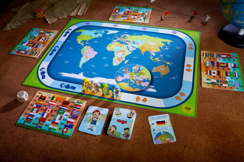 Countries of the World - Children's Game