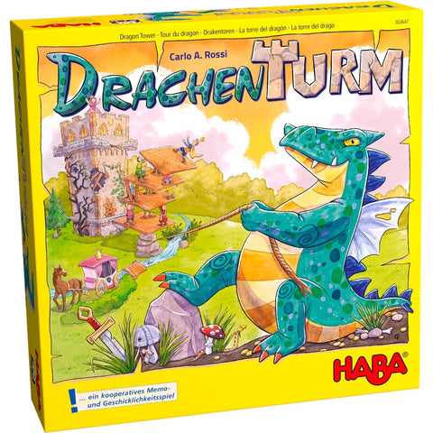 Dragon Tower - Children's Game - The Board Gamer
