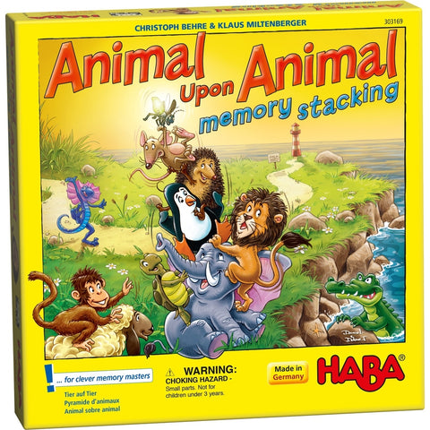 Animal Upon Animal Stacking Memory - Children's Game