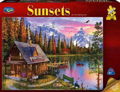 Holdson: 1000 Piece Puzzle - Sunsets (At the Fishing Hut)