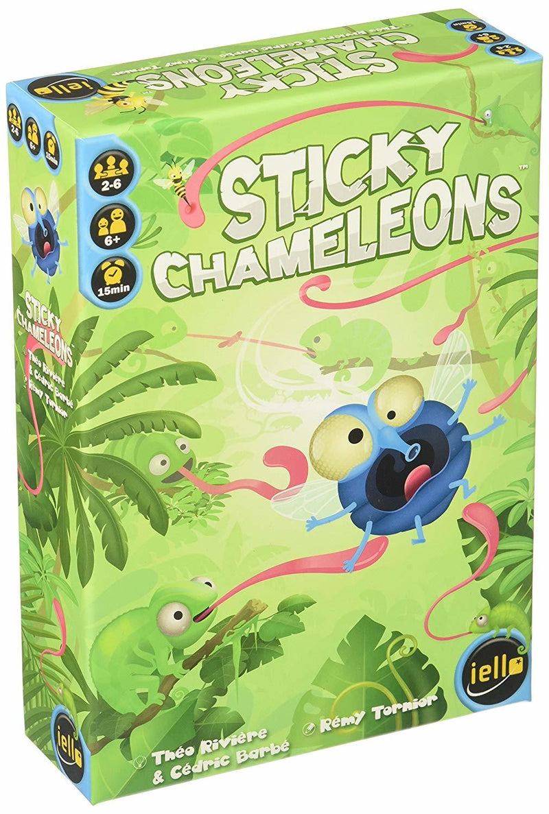 Sticky Chameleons - Board Game