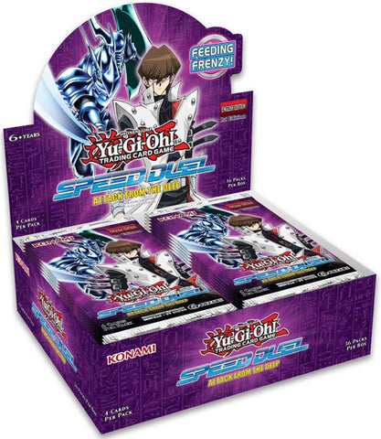 Yu-Gi-Oh! Speed Duel Attack From The Deep Booster Box