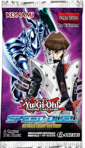 Yu-Gi-Oh! Speed Duel Attack From The Deep Single booster - The Board Gamer
