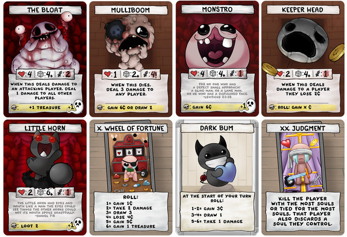 The Binding of Isaac: Four Souls - Card Game