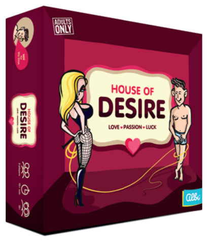House of Desire - Adult Game - The Board Gamer