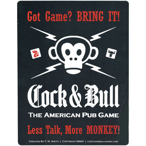 Cock & Bull: 2nd Edition - Party Game - The Board Gamer