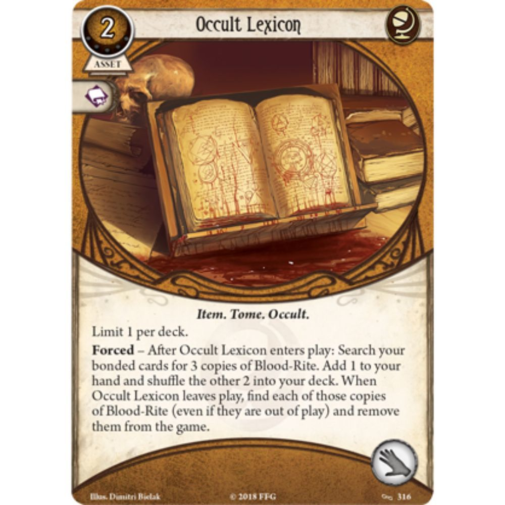 Arkham Horror LCG - Before the Black Throne - Mythos Pack