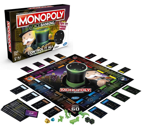 Monopoly: Voice Banking - Electronic Board Game