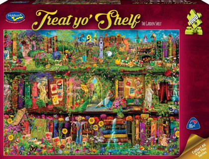 Holdson: 1000 Piece Puzzle - Treat Yo'Shelf (The Garden Shelf)