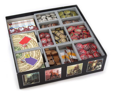 Folded Space: Game Inserts - 7 Wonders