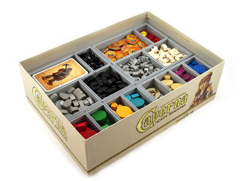 Folded Space: Game Inserts - Caverna